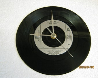"Level 42 - ""Tracie"" Vinyl Record Wall Clock"