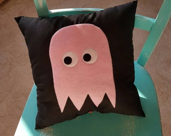 Pinky Ghost Cushion From Pacman