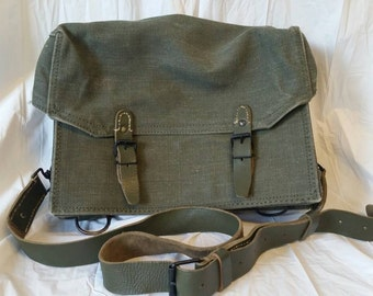 Vintage French Army Messenger Bag