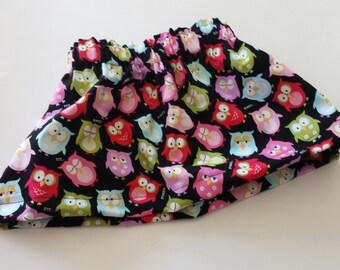 Hoot Owl Toddler Skirt