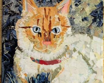 Rowdy Custom Cat Portait--EXAMPLE
