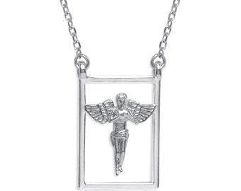 DUEROS Necklace Escapulario Guardian Angel