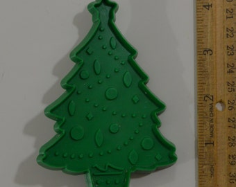 Vintage HALLMARK CHRISTMAS TREE Cookie Cutter | 1973 4 1/8""