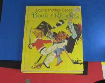 Vintage Dean's Mother Goose Book of Rhymes