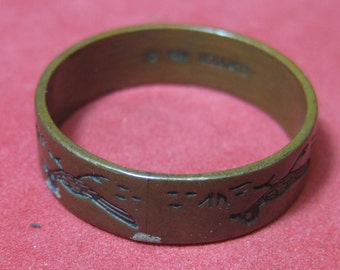 Vintage Ring copper   size 11