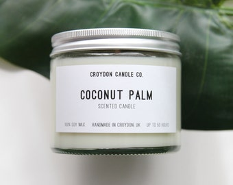 COCONUT PALM Soy Jar Candle