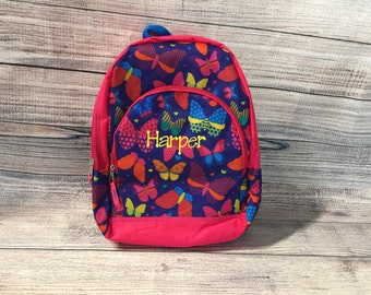 SALE- Personalized / Monogrammed Backpack / Bookbag for Girls and Boys
