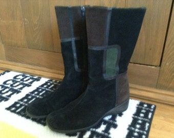 Boots suede Aquatalia, high quality 50%