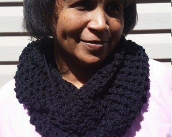 Crochet Infinity Scarf, Circle scarf, Infinity Scarf, Winter Infinity Scarf, Long scarf, You choose color