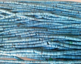Lot of 25 lines of blue turquoise