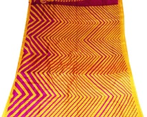 vintage saree indian bollywood designner ethic fashion women party ware saree with blause-PY89
