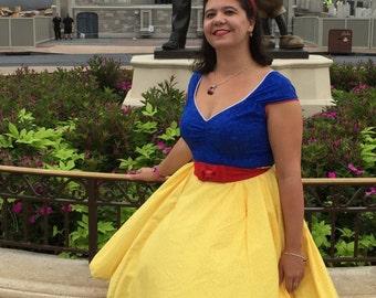 """Snow White Disney Bounding """"Linda"""" Dress - Dapper Days - Vintage Inspired"""