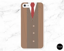 Doctor Who, Minimalist Tenth Doctor, David Tennant iPhone & Samsung Case