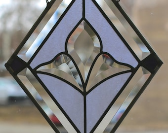 Small Diamond Panel (Purple)