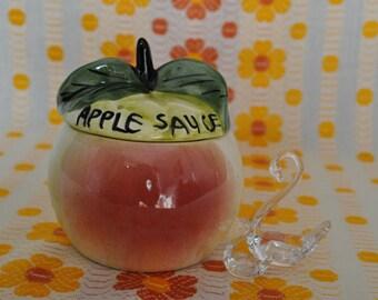 Toni Raymond Pottery Apple Sauce pot 1960s/1970s