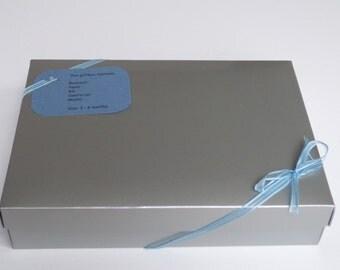 New baby giftbox/hamper - boy