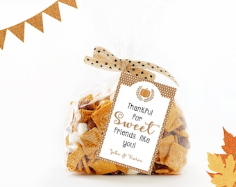 Thanksgiving Treat Tags,  Personalized Thanksgiving Tags,  Thanksgiving Gift Tags,  Thanksgiving labels,  Treat Tag,  Thanksgiving Gift Tags