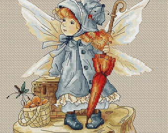Cross Stitch Kit The Fairy Luca-s Anchor threads
