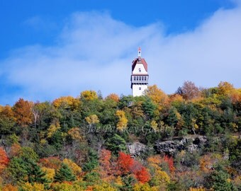 Autumn Beauty, Talcott (Avon) Mountain, Heublein Tower, Simsbury, CT, fine art photo, home decor, wall art, archival print, by Joe Parskey