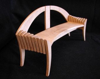 BOTANICA:  Garden bench, park bench woodworking furniture plans