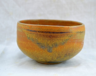 Orange ceramic stoneware Bowl
