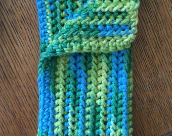 Large Crochet Washcloth