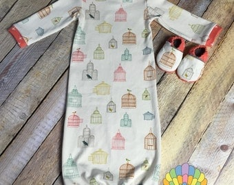 Lullaby Baby Gown
