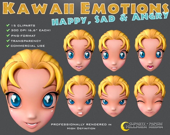 Kawaii Emotions
