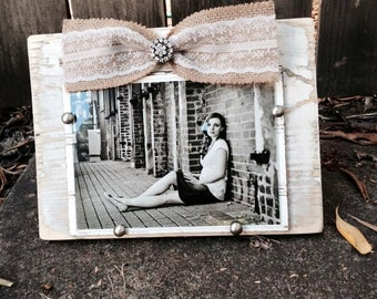 Shabby Chic, rustic romance frame