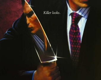 American Psycho Large A1 Poster