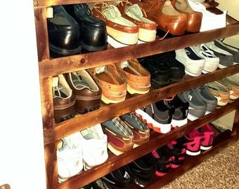 Shoe rack, shoe organizer