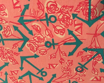 DELTA GAMMA DG Lilly Sorority Fabric 18x9 or 18x18 inches