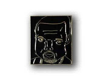 Kanye West Enamel Pin - Hip Hop Pin Badge