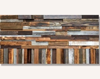 Rustic Wall Art *FREE SHIPPING* Real Wood Art, Repurposed Wood Art, Abstract Wood Art, Large Wall Sculpture, Barnwood Art, Rustic Wood Art