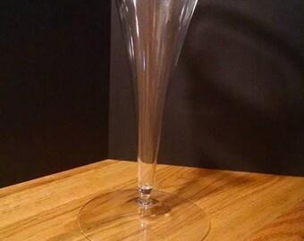 Hand Blown Glass Flower Vase