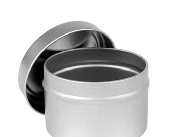 10% Off Set of 12 - 4 oz. Metal Tins - Read Description for Coupon Code