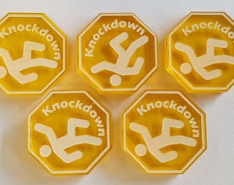Knockdown Tokens (5)
