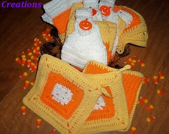 Candy Corn Kitchen Gift Basket