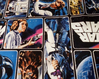 Star Wars Cotton Fabric/Star Wars Characters Cotton Fabric/ By the Yard