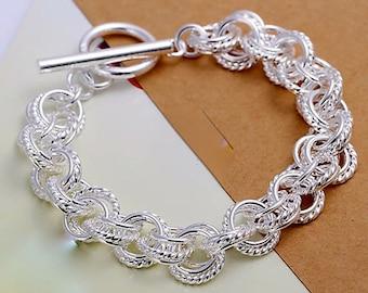 925 Silver Link Bracelet