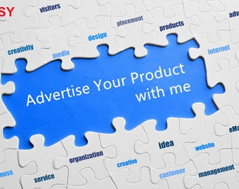 Advertise your Product with me!