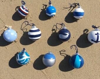 The Nautical Collection -Coastal/Beach Chistmas Ball Ornaments