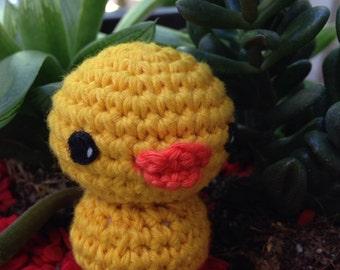 amigurumi Keyring, little yellow duck