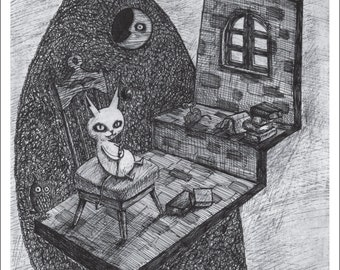 Postcard Set Devi-Cat