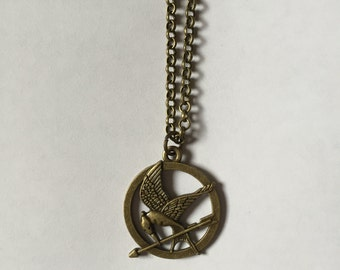 Bronze Hunger Games Necklace