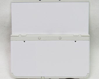 Blank ABS Injection *NEW* 3DS cover plates for Customization (White, Black, Blue)