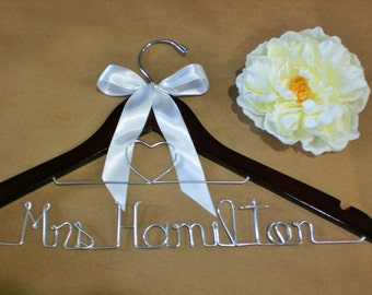Grand Opening, Only 10.00/Personalized Hanger/Personalized Wedding Dress Hangers/Wedding Hangers/Weddings/Bride Hangers/Bridesmaid Hnagers