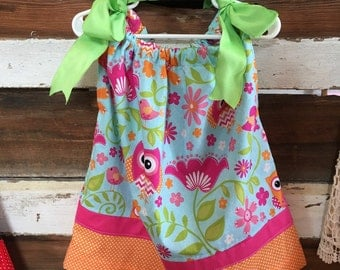 Handmade Sundress with Ribbon ties