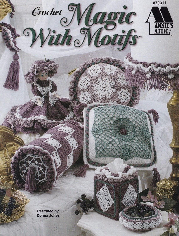 Annie S Culinary Creations Part 2: Magic With Motifs Annie's Attic Crochet Pattern 870311