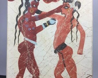 Greek tiles etsy for Carrelage versace